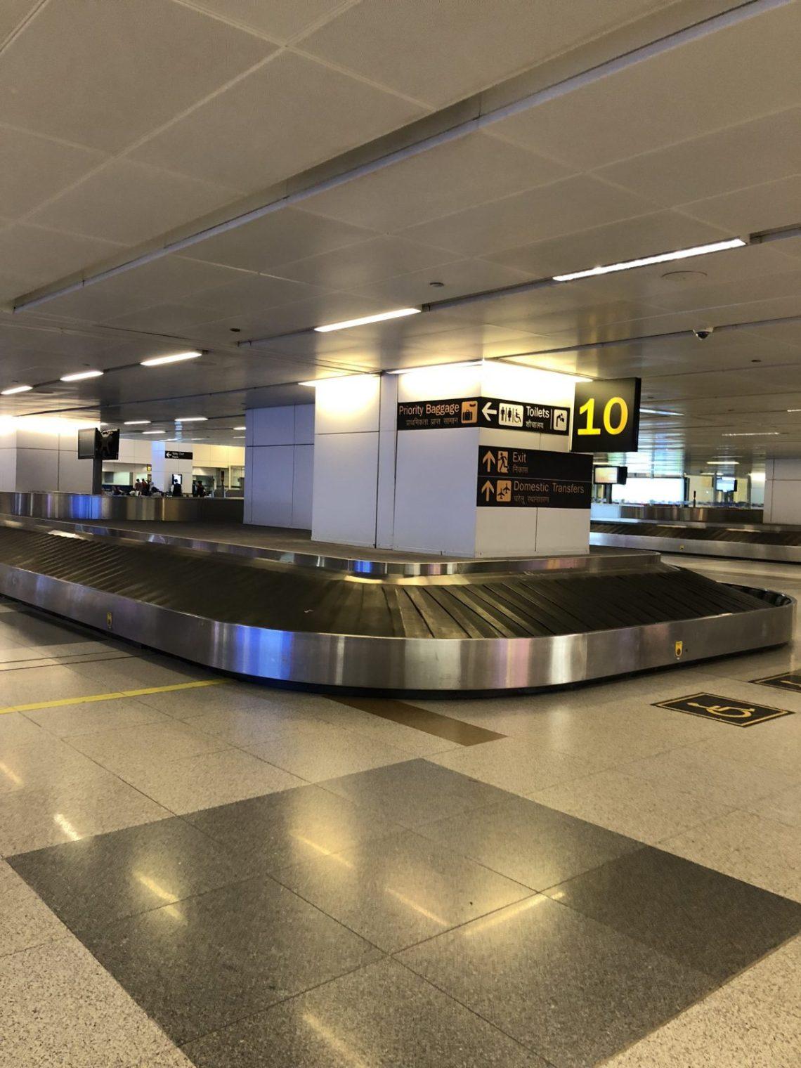 Baggage carousel at Terminal 3