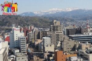 Kanazawa mountains