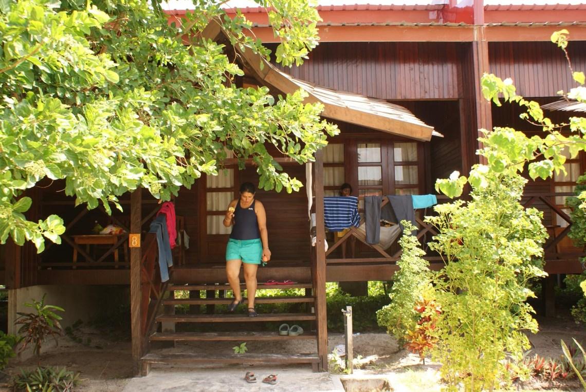 Ketaki at Mabul Island resort