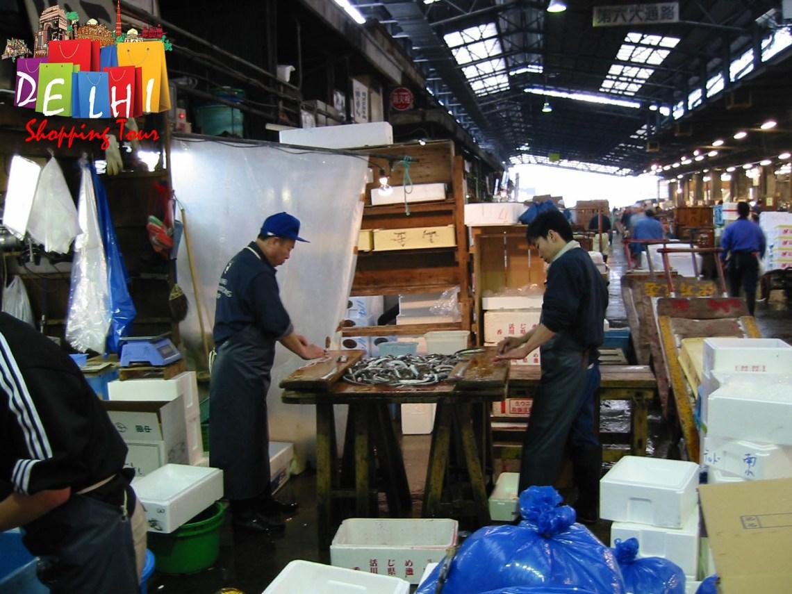 Tsukiji Fishmongers