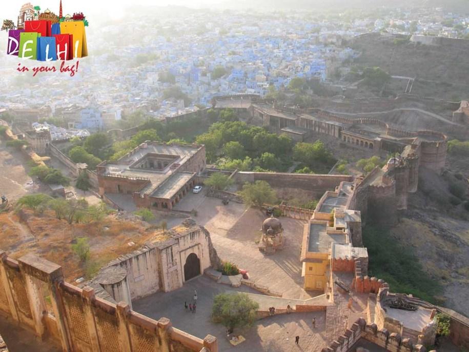 Jodhpur Blue city outlook