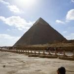 Great pyramind of Giza in the Sun