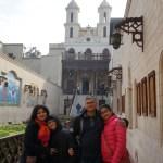 Hanging Coptic church Cairo