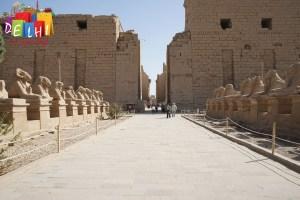 Walk to Karnak Temple