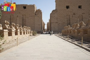 Walk to Karnak Temple