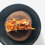 Indian Accent Course 8 - Jackfruit Roti Taco