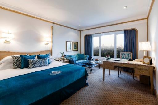 Deluxe room at Taj Palace Hotel Delhi
