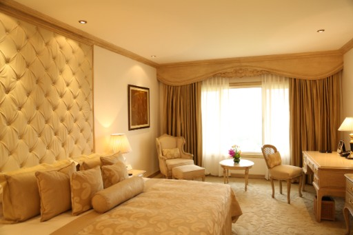 Luxury suite at Taj Palace Hotel Delhi
