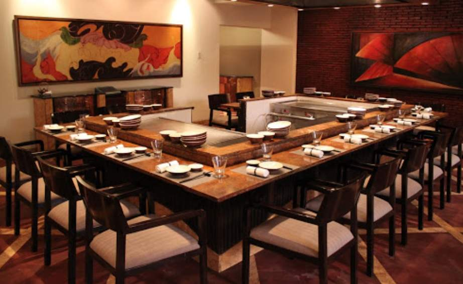 TK's Oriental Grill at hyatt Regency Delhi