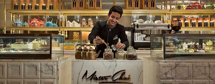 Mister Chai at Shangri La, New Delhi