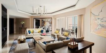 Presidential suite in Shangri La, New Delhi