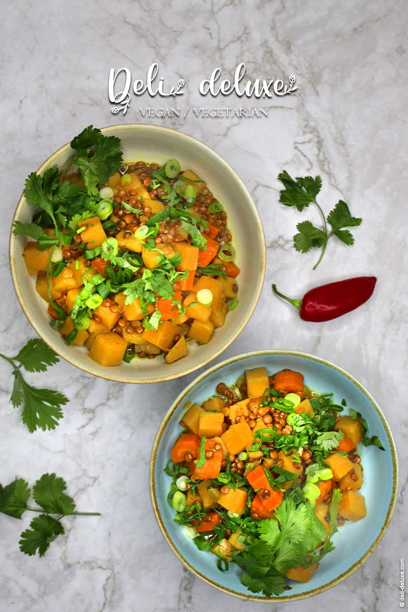 veganes Steckrüben Curry 🥕🥕