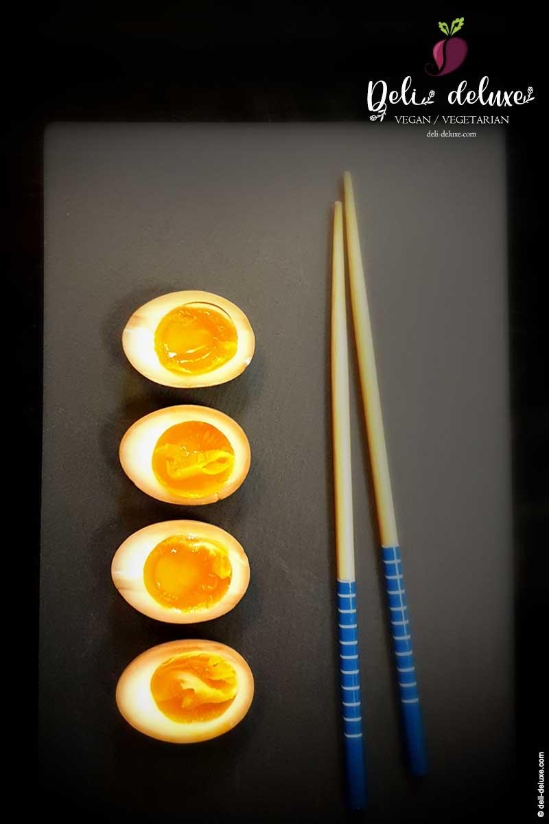 "Ramen-Eier ""Ajitsuke Tamago"" – marinierte Eier 🥕"