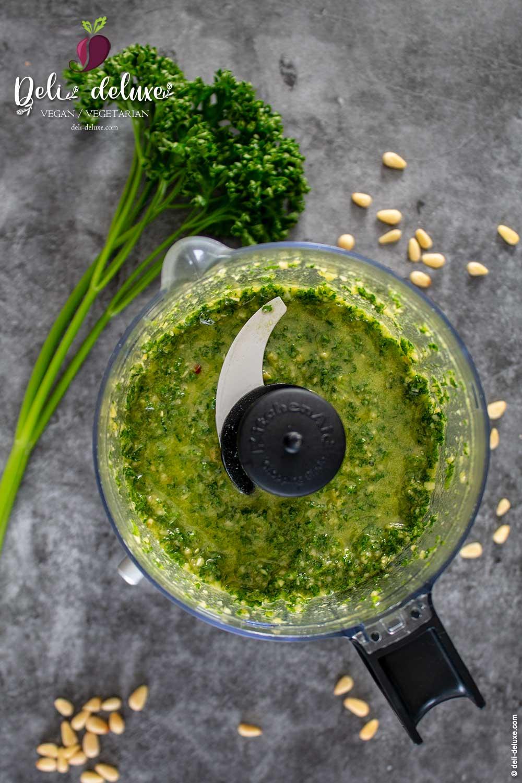 veganes Petersilien Pesto Rezept 🥕🥕
