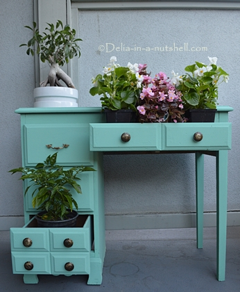 Salvaged table transformation-Amazing DIY project