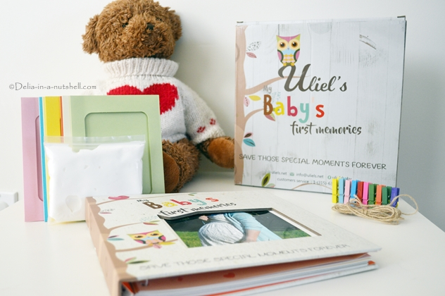 The perfect gift for expecting parents ! Enter the giveaway to win a baby book set together with hand and foot print clay, picture frames and more! Didn't win? Grab the 15% OFF coupon for free! baby book , giveaway , uliel , keepsake baby shower gift , cute gift for baby, useful gift for new parents Baby Keepsake Set + Giveaway!