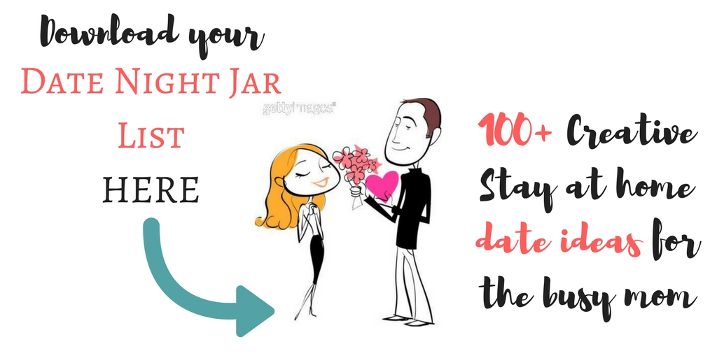 picture regarding Date Night Jar Printable known as Delia inside of a insane 100+ Innovative Reside at Household Dates+