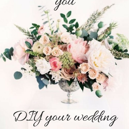The truth behind a gorgeous DIY Wedding
