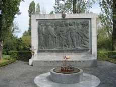 Bleiburg memorial in Zagreb's Mirogoj cemetery