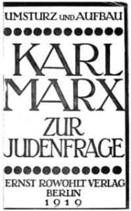Karl Marx: Zur Judenfrage