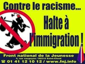 Proti rasismu. Zastavte imigraci!