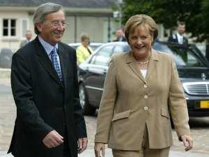 Juncker Merkelová
