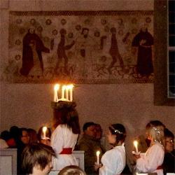 Průvod ke svátku sv. Lucie