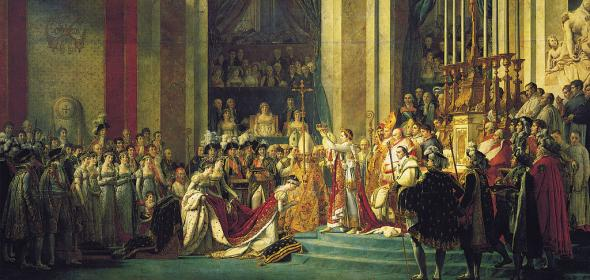Jacques Louis David - The Coronation of Napoleon