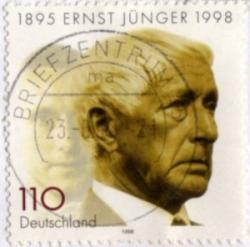 Ernst Jünger poštovní známka