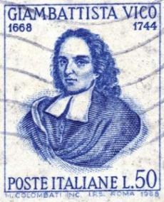 Giambattista Vico poštovní známka