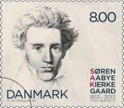 Søren Kierkegaard poštovní známka