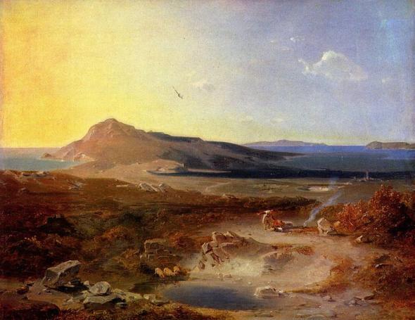 Carl Anton Joseph Rottmann - Die Insel Delos