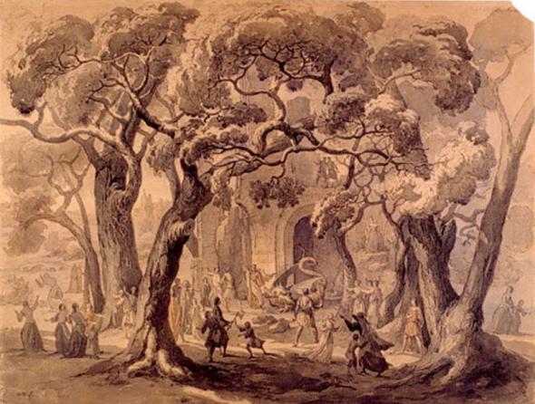 Auguste Migette - Svatý Klement a (métský drak) Graoully