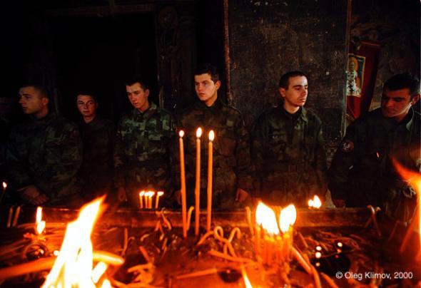 Modlitba za padlé v bitvě u Košare