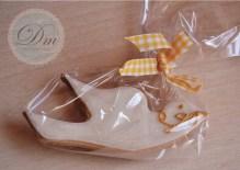 Paloma blanca de glasa