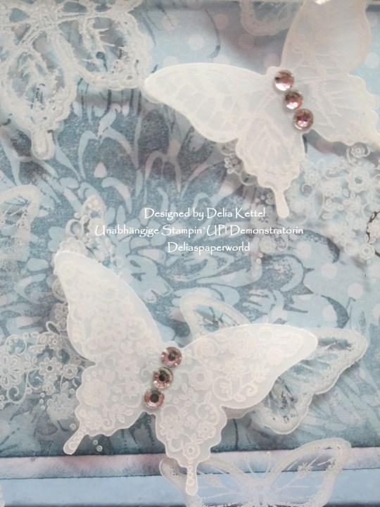 Acrylic Butterflies Zartblau 4