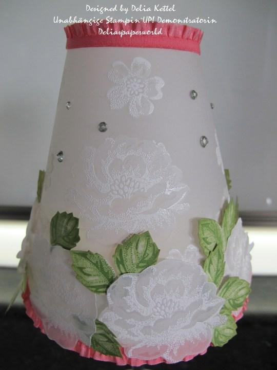 Lampenschirm Stippled Blossoms