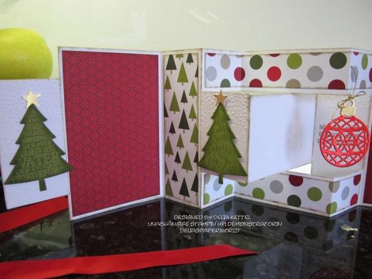 Mini Album Weihnachten Delia Kettel 4