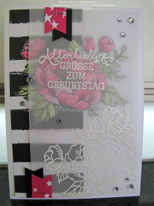 Geburtstagsblumen 3 by Delia Kettel