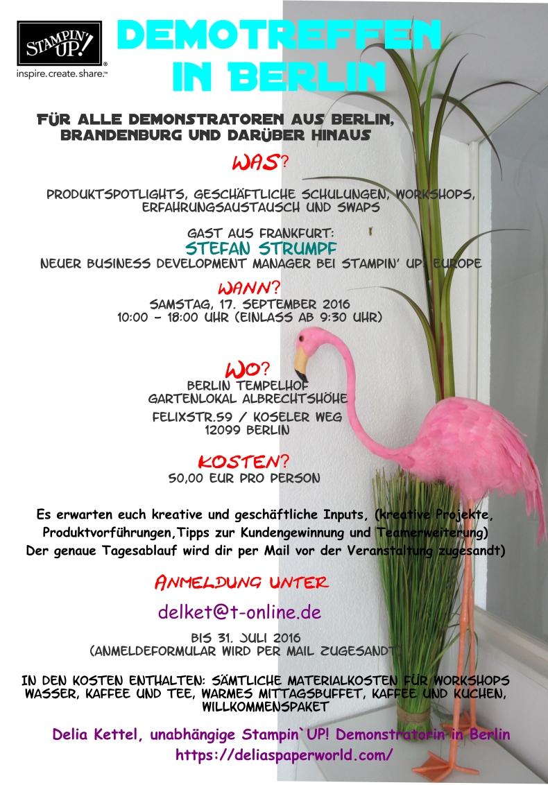 Demotreffen in Berlin