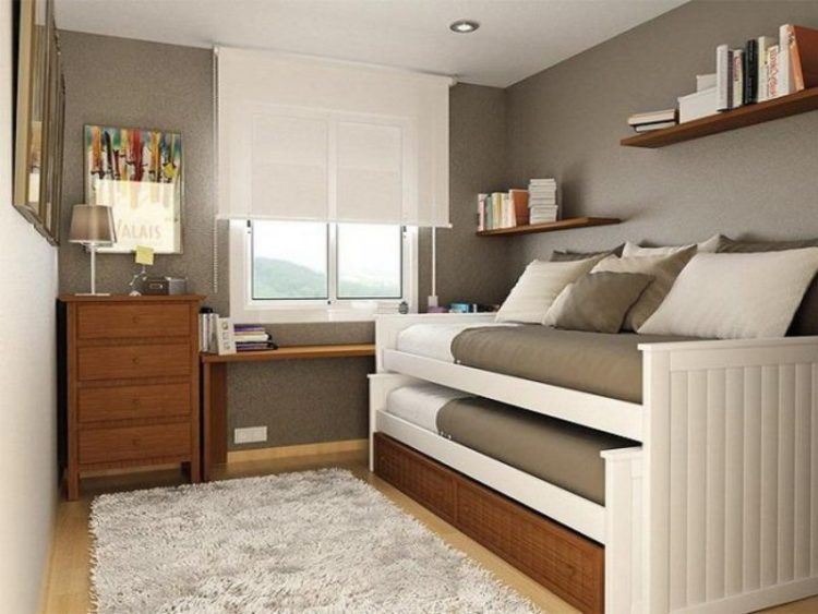 31 cool bedroom ideas to light up your world 10141 | 19 small twin bedroom cobonz com resize 750 2c563