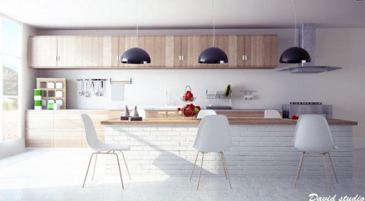 Clear Modern Kitchen