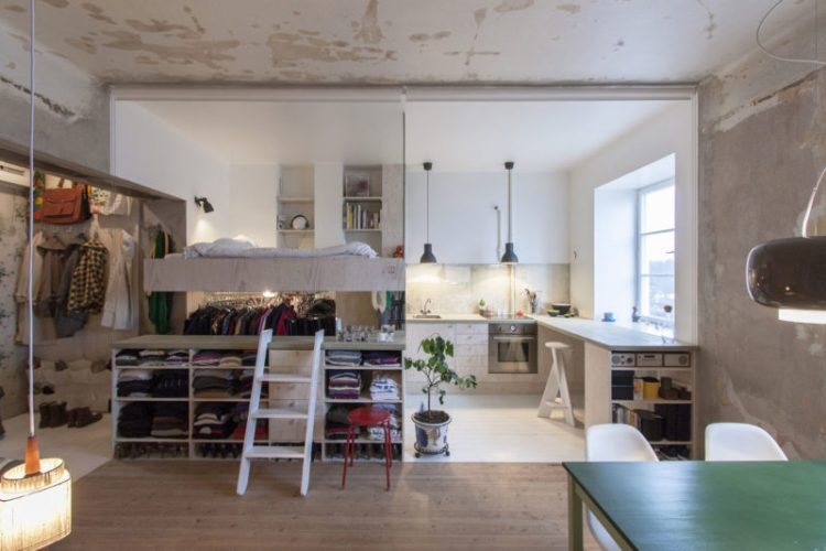 Karin Matz Studio Apartment