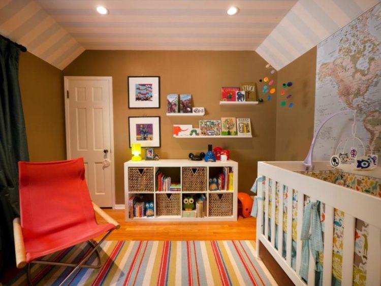 Ceiling paint in nursery room
