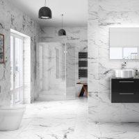 22 Bathroom Tile Ideas - Simple & Stylish