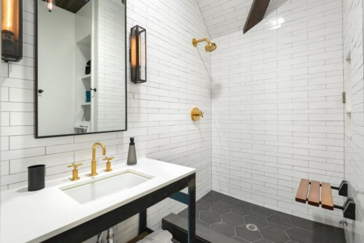 Subway Tiles Bathroom