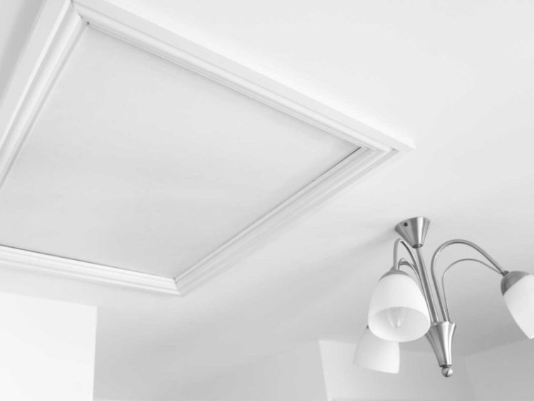 White ceiling paint