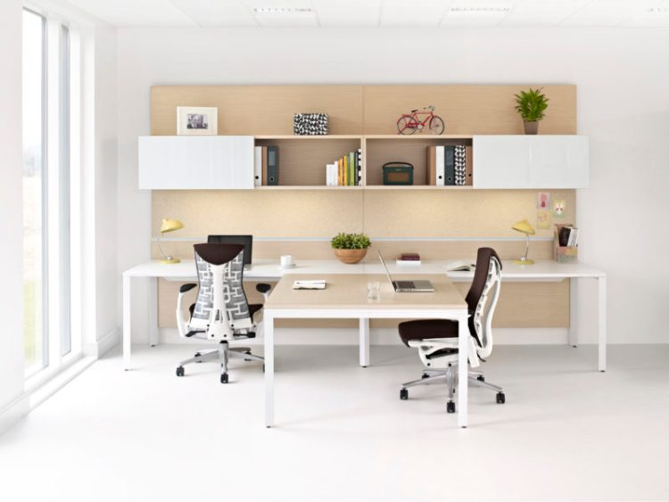 DIY Double Work Desk Ideas