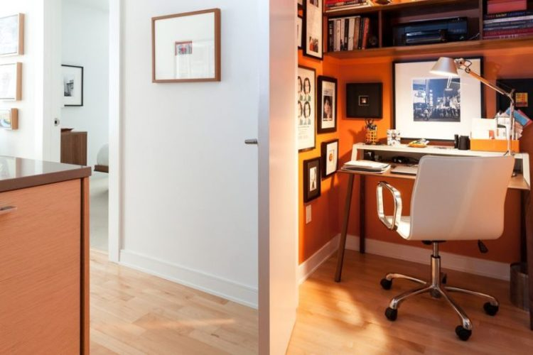 Turn a Closet into a Home Office