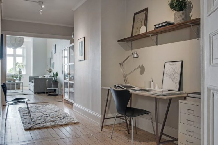 Entryway Home Office